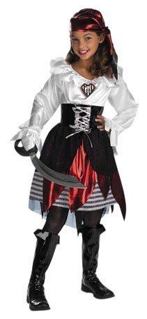 Pirate Lass Child Costume - Large ()