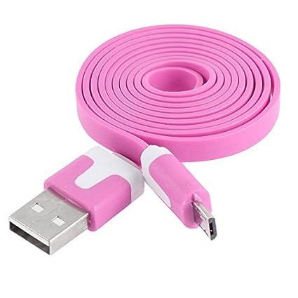 Amazon.com: eDealMax Teléfono móvil 1 M Micro USB Plana de ...
