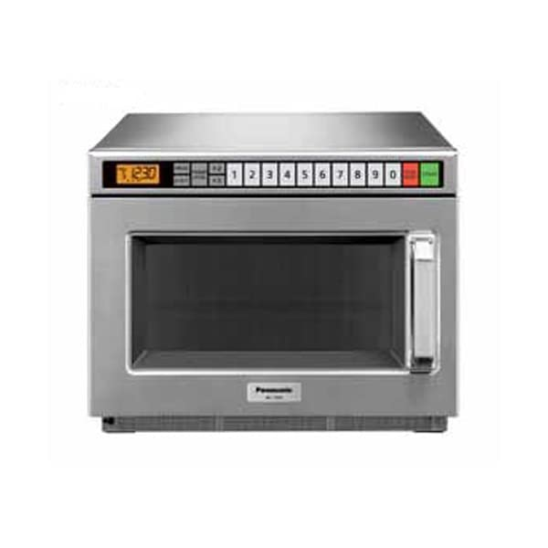 Commercial Series NE-17521 Commercial Microwave Oven 1700 Watts w/ 5 Stage Cooking & LCD Digital Display 1