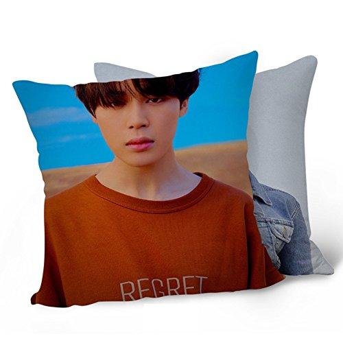 Bosunshine BTS Bangtan Boys Love Yourself 承 'HER' 'Tear 'Throw Pillow Soft Velvet Core Pillowcase (Fake Love-07)