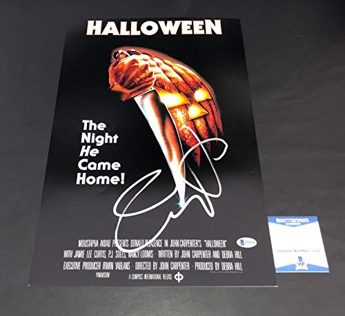 Jamie Lee Curtis Autographed Signed Halloween 12X18 Photo Authentic Autograph - Beckett Authentic