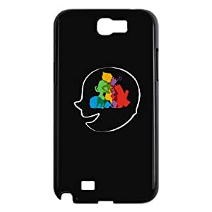 Samsung Galaxy N2 7100 Cell Phone Case Black MIXED FEELINGS SUX_148401