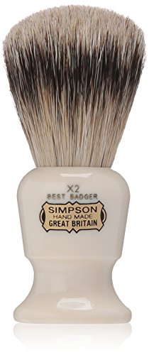 Price comparison product image Commodore X2 Best Badger Shave Brush 95mm shave brush by Simpson