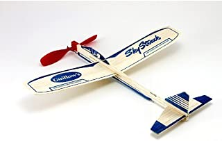 product image for Guillow's Balsa Airplane Sky Streak Rubber Band Power Prop Plane Lot Of 6