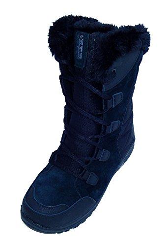Columbia Womens Esp Rokken Winter Waterproof Laars Schoenen Zwart