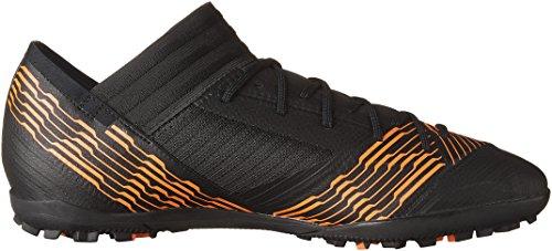Adidas Prestaties Mens Nemeziz Tango 17.3 Tf Kern Zwart / Kern Zwart / Zonne-rood