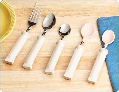 Amazon.com: Mango de plástico utensilios de Bendable ...