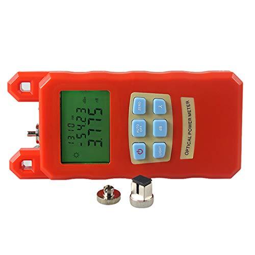 Baosity Pack Portable Optical Fiber Power Meter Tester Measure -70dBm~+10dBm + 1mW 5KM Visual Fault Locator Fiber Tester Detector Meter Pen by Baosity (Image #2)