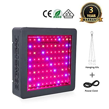 MARS HYDRO Led Grow Light MarsII 400W 900W 1600W Full Spectrum for Indoor Plants Veg and Flower Bloom Led Plant Grow Lights for Greenhouse Hydroponics MarsII 400W