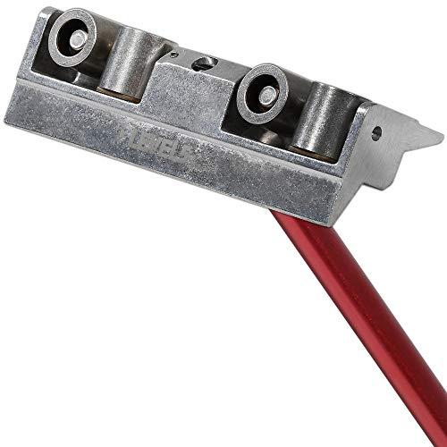 Inside Corner Roller + Handle - LEVEL5 | Pro-Grade | Drywall Gyprock Plasterboard Sheetrock| 4-507 ()