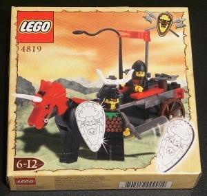 [해외] LEGO (레고) KNIGHTS' KINGDOM 4819 REBEL CHARIOT 블럭 장난감 (병행수입)