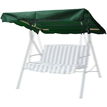 Perfect Outdoor Patio Swing Canopy Replacement   Color: Hunter Green