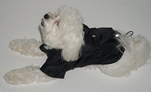 Royal Animals Rain Coat, Water Resistant and Reflective Strip with Hood, Small, Black by ROYAL ANIMALS (Image #5)