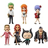 Japan Import One Piece World Collectable Figure -ONE PIECE FILM GOLD-vol.2 7 Set of