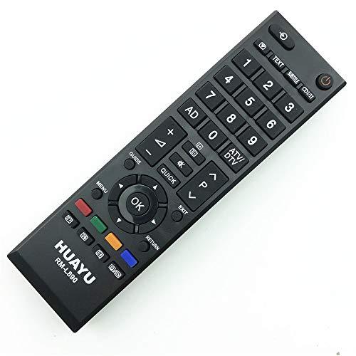 Artshu - Mando a Distancia para Toshiba TV Smart LCD CT-90326 CT-90336 CT-90325 CT-90351 CT-90329 CT-90380 CT-90386 CT-90436