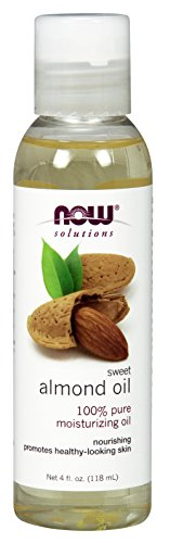 NOW Sweet Almond Oil, 4-Ounce