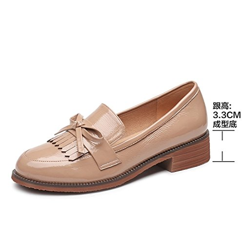 nbsp;womanshallow nbsp;is the nbsp;mouth nbsp;with nbsp;small nbsp;leather nbsp;fringed nbsp;shoes nbsp;the nbsp;shoe nbsp;head apricot nbsp;round shoes nbsp;flat nbsp;spring nbsp;thick The nbsp;with qzHgWRAtOA