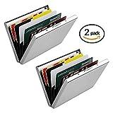 CELLTEK Ultra Thin Aluminum Metal Wallets RFID Blocking Credit Card Wallet Holder Nice