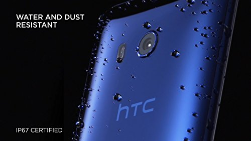 HTC U11 with hands-free Amazon Alexa – Factory Unlocked – Sapphire Blue