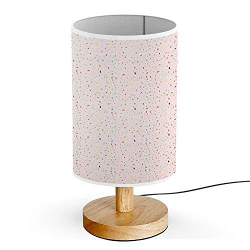 Artsylamp Wood Base Decoration Desk Table Bedside Light