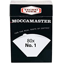 Technivorm Moccamaster 85090 Cup-One Filters Paper, White