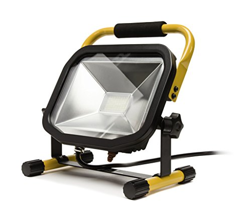 Slimline Portable LED Outdoor Worklight - 40W - Extra - Stand Work Heavy Duty Portable