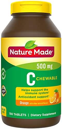 Nature Made Chewable Vitamin C 500 mg