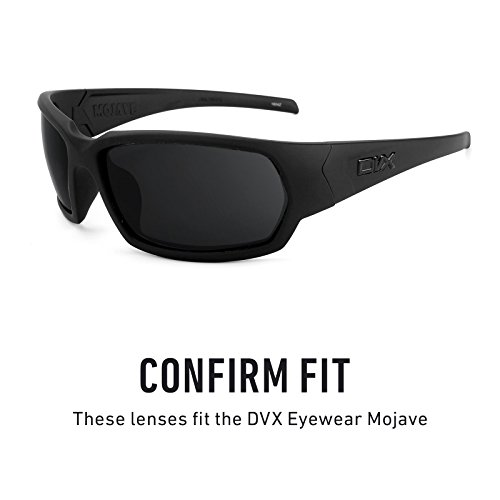 múltiples Elite Lentes DVX Mojave Revant repuesto — Polarizados Azul para Opciones de Hielo Mirrorshield Eyewear zPw1qFx