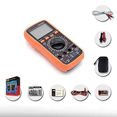 True RMS Digital Multimeter 1000V 20A Protable Meter Ammeter Voltmeter Inductance Frequency Tester DC AC Multimeter YJXHYQYH