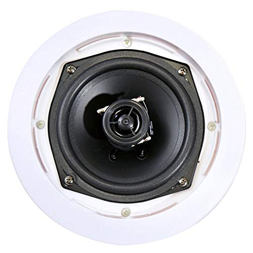 8) New PYLE PRO PDIC61RD 6.5'' 200W 2-Way In-Ceiling/Wall Speaker System White by Pyle Home (Image #5)