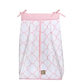 Pink Sky Diaper Stacker