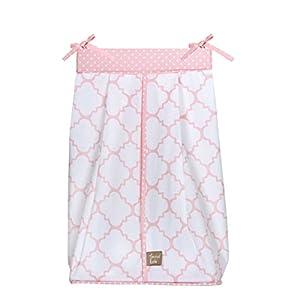 Trend Lab Pink Sky Diaper Stacker