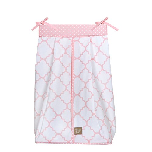 Trend Lab Pink Sky Diaper Stacker - Baby Diaper Stacker