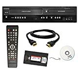 Magnavox VHS to DVD Recorder VCR Combo