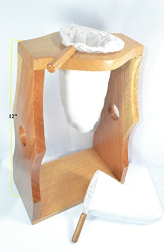 Ticoland chorreador costa rica handmade wooden stand for Reusable wood