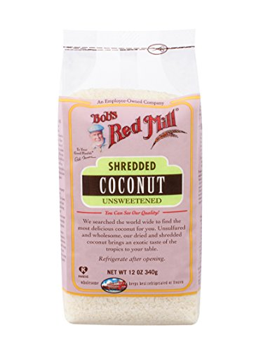 Bob's Red Mill Shredded Coconut, Unsweetened, 12 - Coconut Red