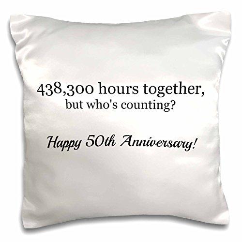 50th Anniversary Pillow - 6