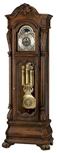 (Howard Miller Limited Edition Grandfather Floor Clock Hamlish, Rustic)