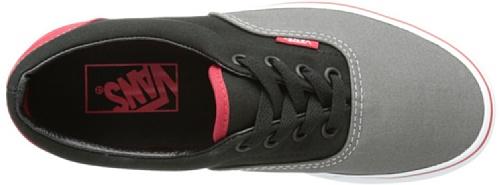 Vans Unisex-tijdperk Tri-tone Sneakers Charcoalgrayblackchinesered