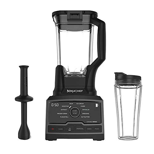 Ninja Chef High Speed 1500 Watt Auto IQ Blender with Cup (Certified Refurbished)