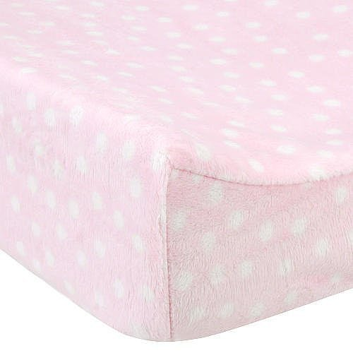 Babies'R'Us Plush Changing Pad Cover - Pink by Babies R Us