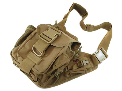 UPC 682017413600, Monstrum Tactical BP03 All-Purpose Messenger Bag (Desert Tan)