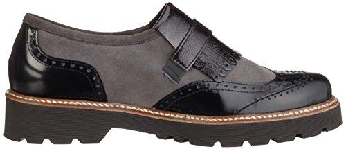 Gabor Shoes 52.666 Damen Slipper Grau (grigio Scuro K. (ss / C) 49)