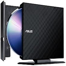 Asus 8X External Slim DVD+/-RW Drive SDRW-08D2S-U - Retail (Black)