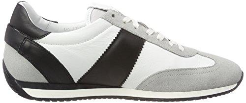 Bogner Monza 1d, Sneaker Uomo Mehrfarbig (Grey/White/Black)