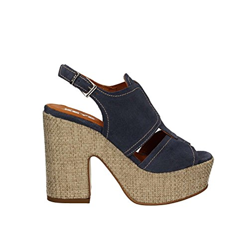 KEYS 5263 Sandalen mit absatz Frauen Blau