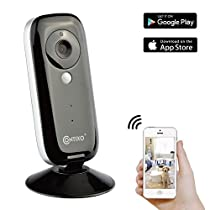 HOLIDAY SPECIAL! Contixo E1 Baby/Security Surveillance HD 720P Wifi Camera W/Full App Control, Night Vision 2-Way Audio, 100° Field View, Motion Detection & Smart Alerts - Best Gift For Christmas