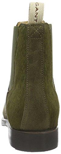 Gant Jennifer, Zapatillas de Estar por Casa para Mujer Verde - Grün (duffle green G75)