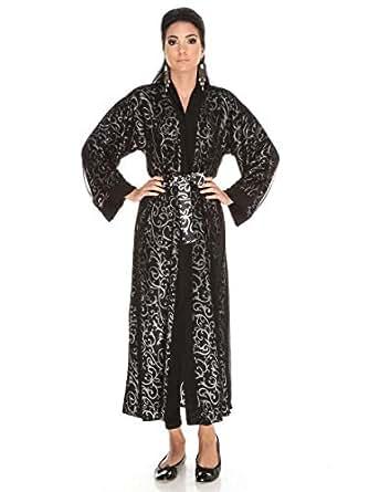 Royal Black Women'S Long Sleeves Abaya