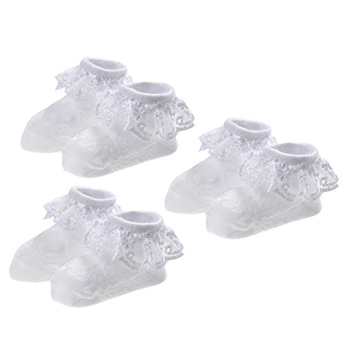 epeius-baby-girls-newborn-eyelet-frilly-lace-socks-princess-white-pack-of-3-0-6-months